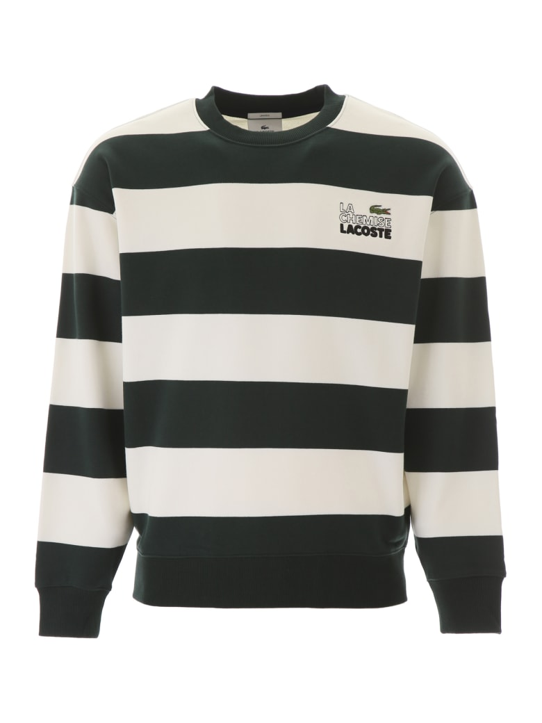 buty temperamentu na stopach zdjęcia Nowe zdjęcia Lacoste Striped Sweatshirt