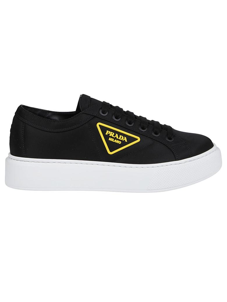 Prada Linea Rossa Sneakers Macro - Z Nero/giallo