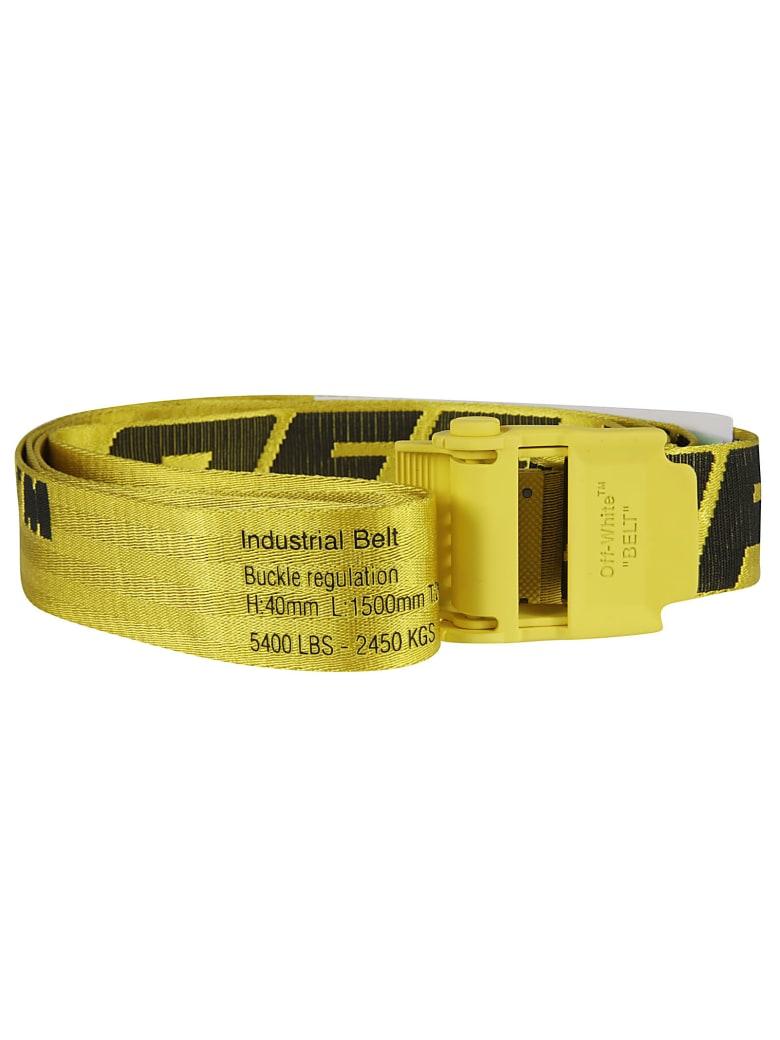 Off-White 2.0 Industrial Belt - Yellow/Black