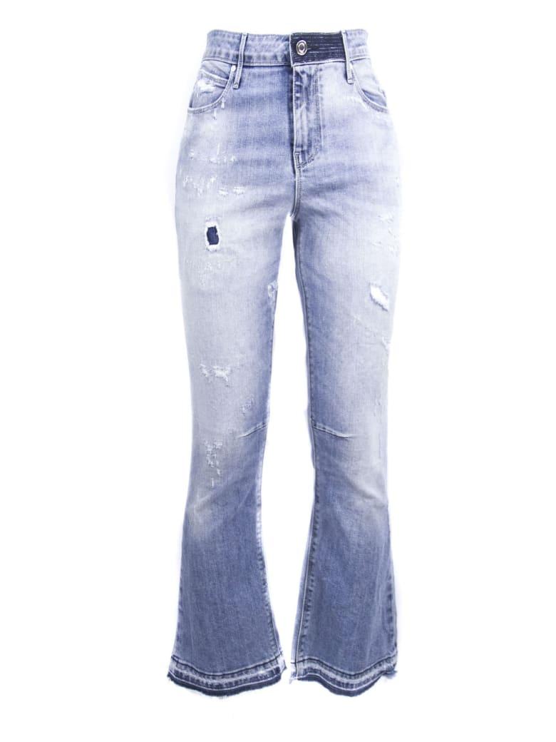 RTA Light Blue Cotton Blend Jeans - Jeans Chiaro