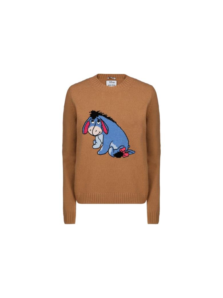 Miu Miu Knitwear - Cammello