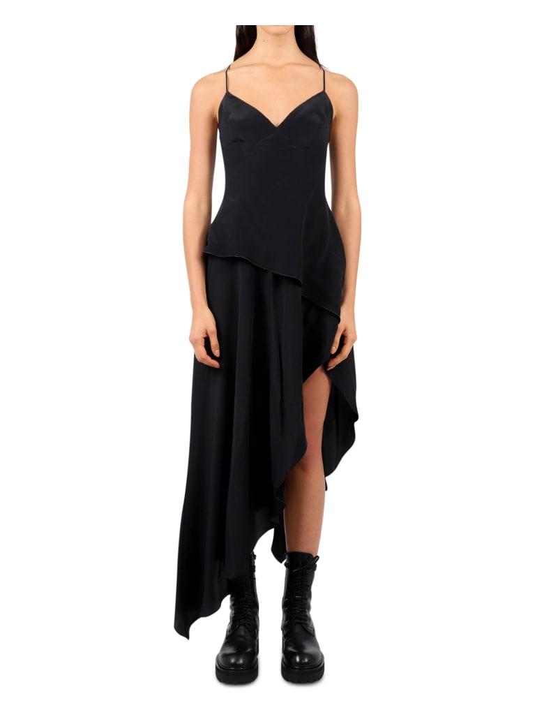 AMIRI Black Asymmetric Dress - Black