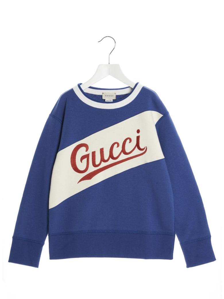 Gucci Sweatshirt - Blue Indigo