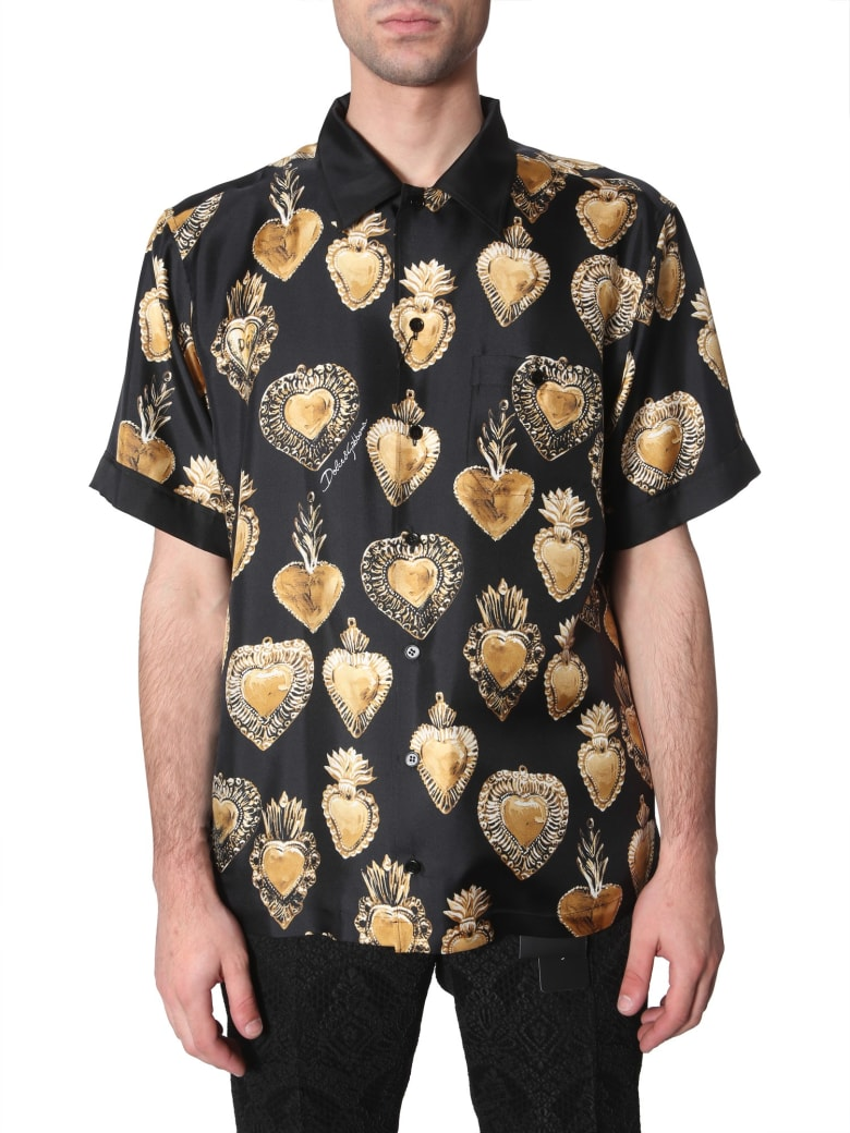 Dolce & Gabbana Short Sleeve Shirt - MULTICOLOR