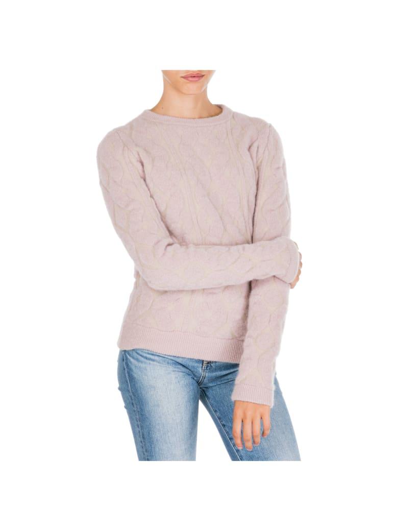 Blumarine  Jumper Sweater Crew Neck Round - Rosa