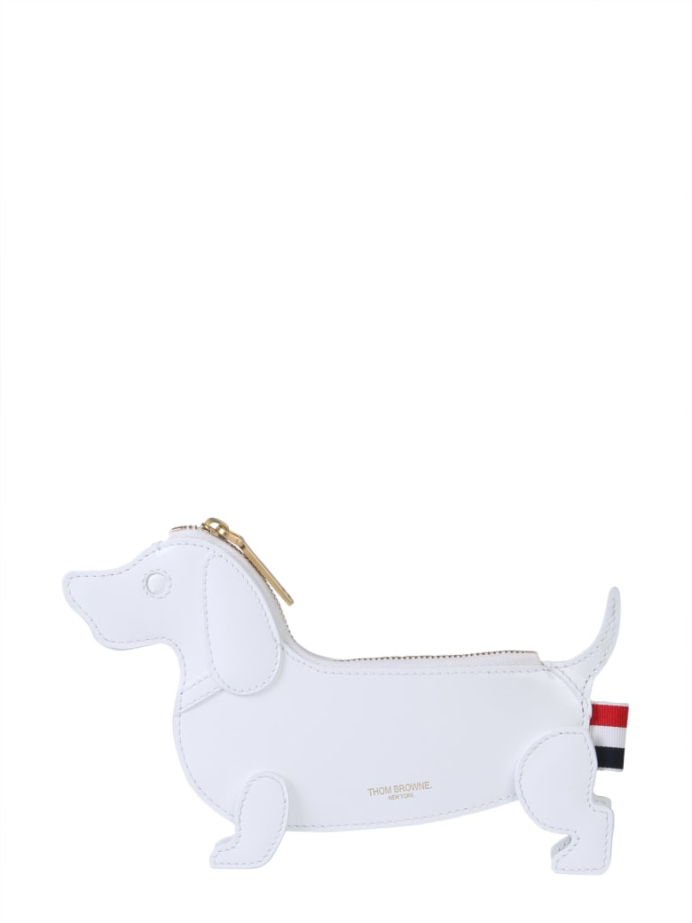 Thom Browne Hector Coin Holder - BIANCO