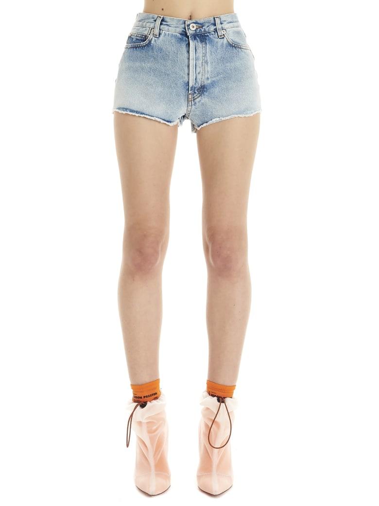 HERON PRESTON Shorts - Light blue