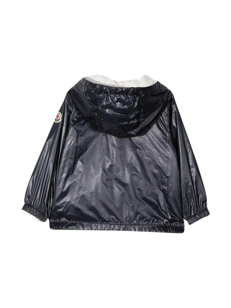 Moncler Black Waterproof Jacket Moncler Enfant - Nero