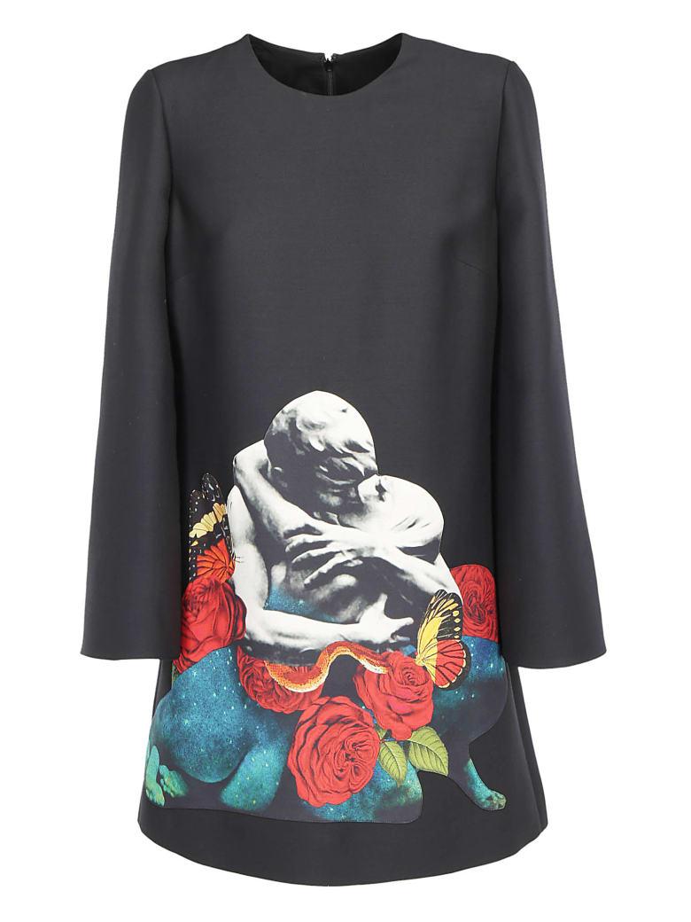 Valentino Dress - Nero/multicolor