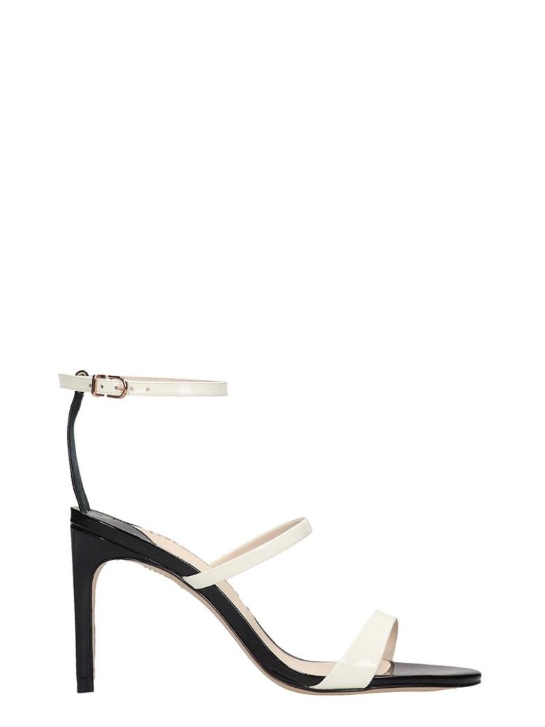 Sophia Webster Rosalind Mid Sandals In Black Patent Leather - black