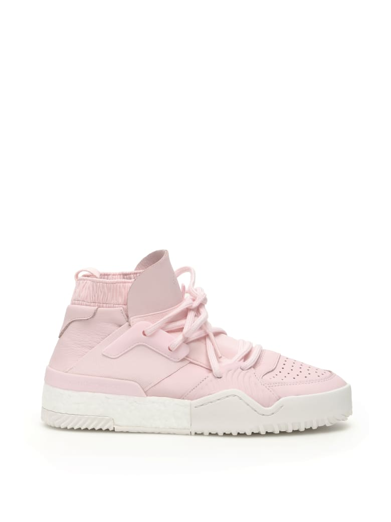 Adidas Originals by Alexander Wang Aw Bball Sneakers - CLEAR PINK CORE WHITE (Pink)