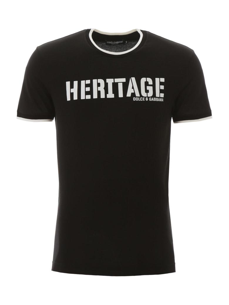Dolce & Gabbana Heritage T-shirt - Nero