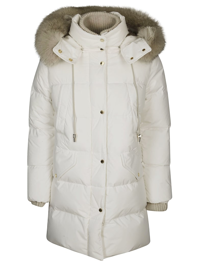 Moorer Talassa Padded Jacket - White