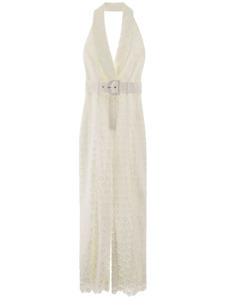 Zimmermann Lace Jumpsuit - IVORY (White)