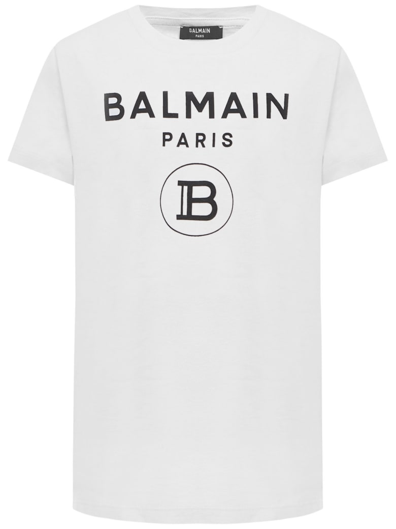 Balmain Paris Kids T-shirt - White