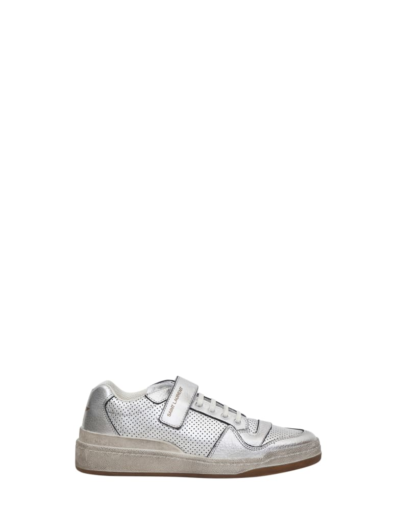 Saint Laurent Travis Sneakers - Argento