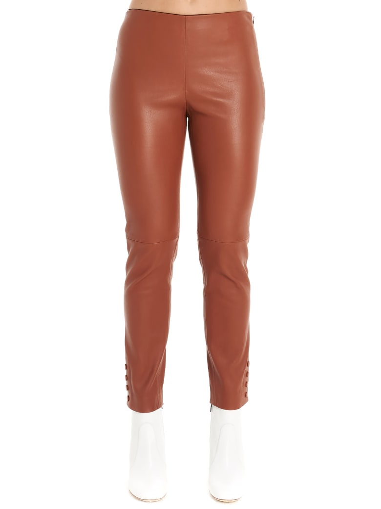Theory Leggings - Brown