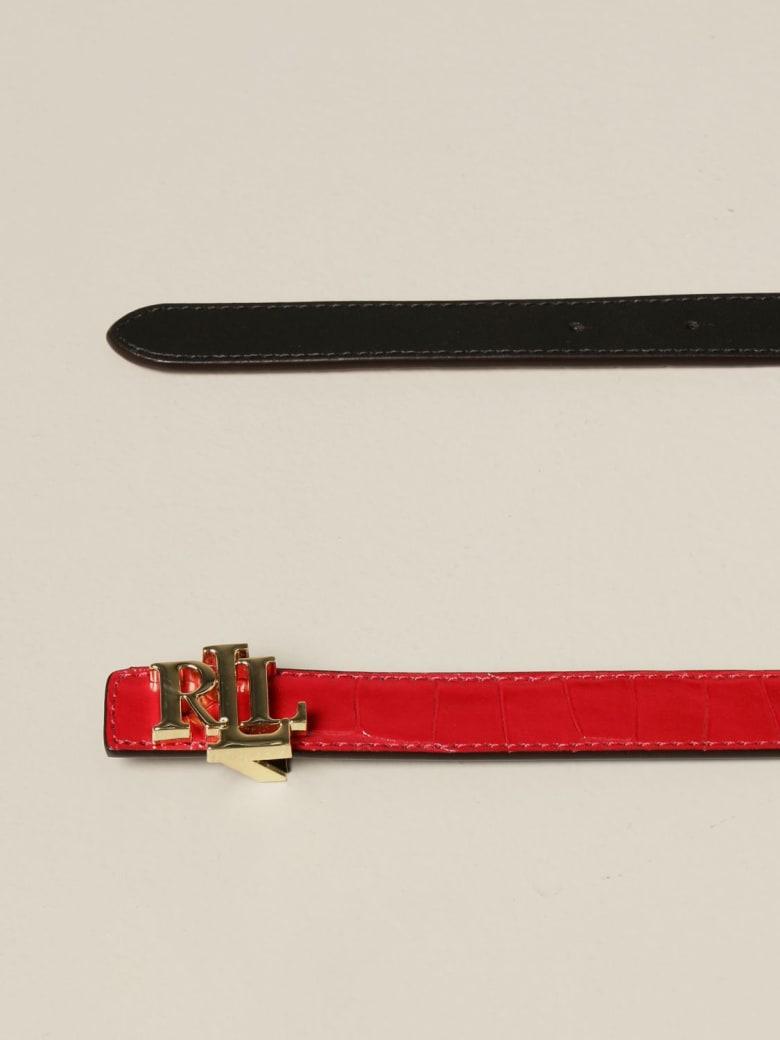 Ralph Lauren Lauren Ralph Lauren Belt Lauren Ralph Lauren Reversible Leather Belt - Red