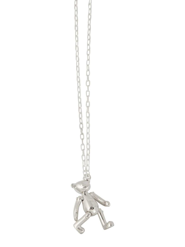 AMBUSH Necklace With Teddy Pendant - ARGENTO