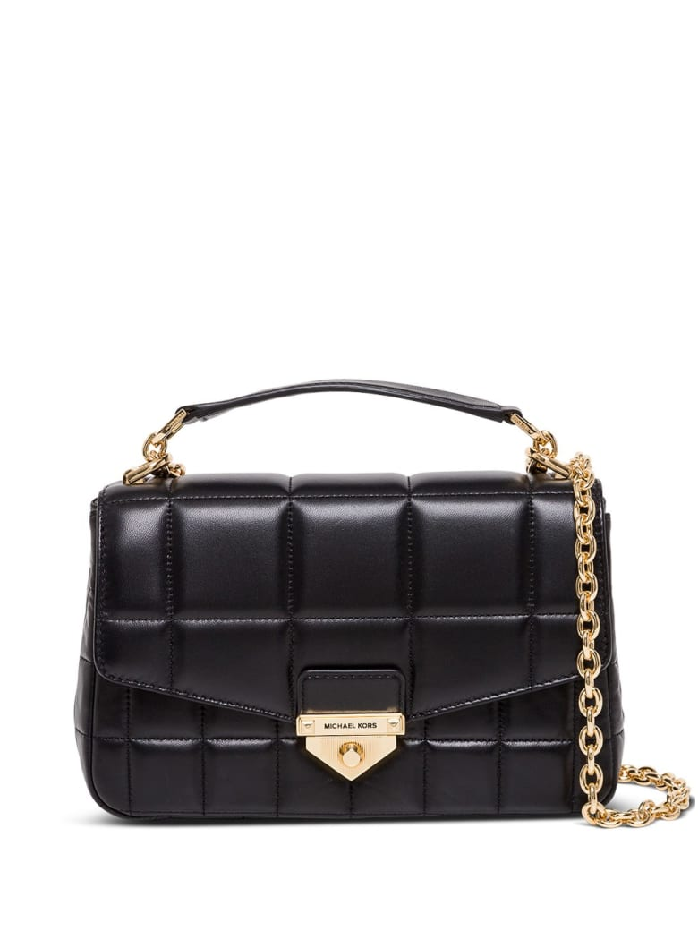 MICHAEL Michael Kors Soho Crossbody Bag In Quilted Leather - Black
