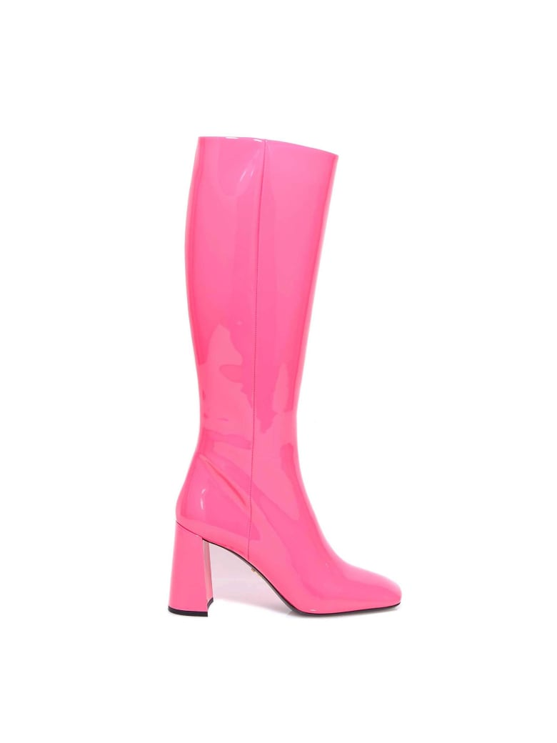 Prada Ankle Boots - Pink
