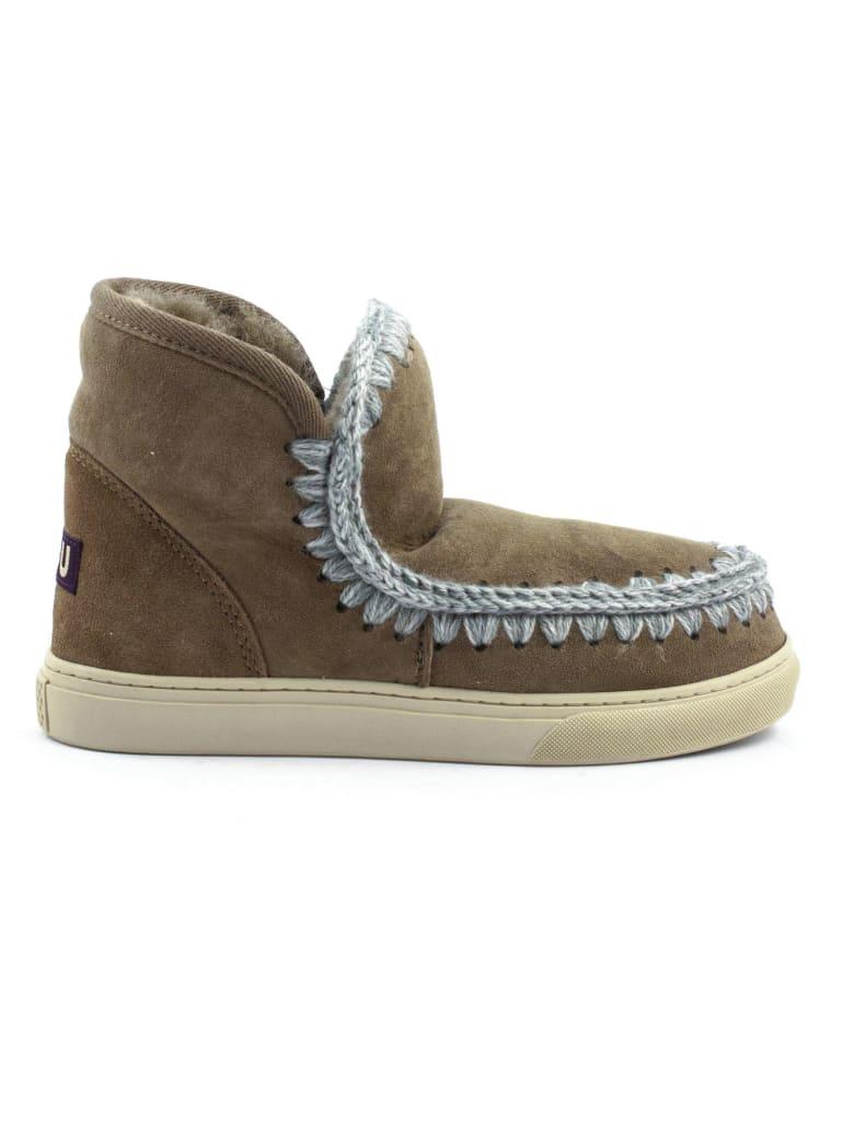 Mou Eskimo Sneaker Brown Leather - Marrone chiaro
