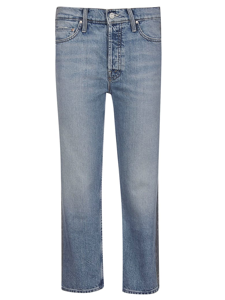 Mother Thrasher Jeans - Azure
