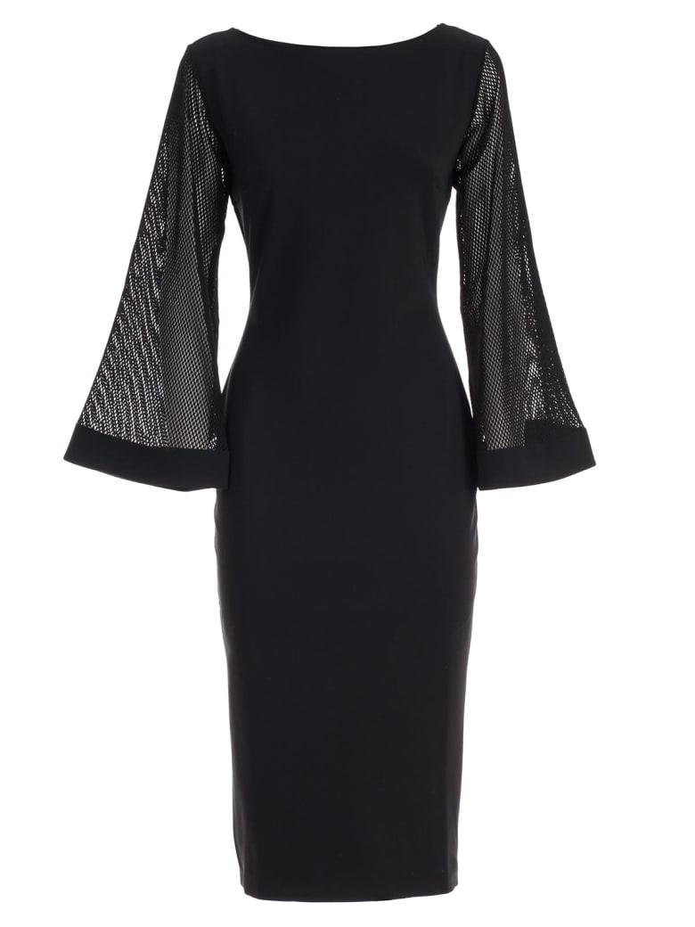La Petit Robe Di Chiara Boni Dress L/s Bet W/applied Pockets - Nero