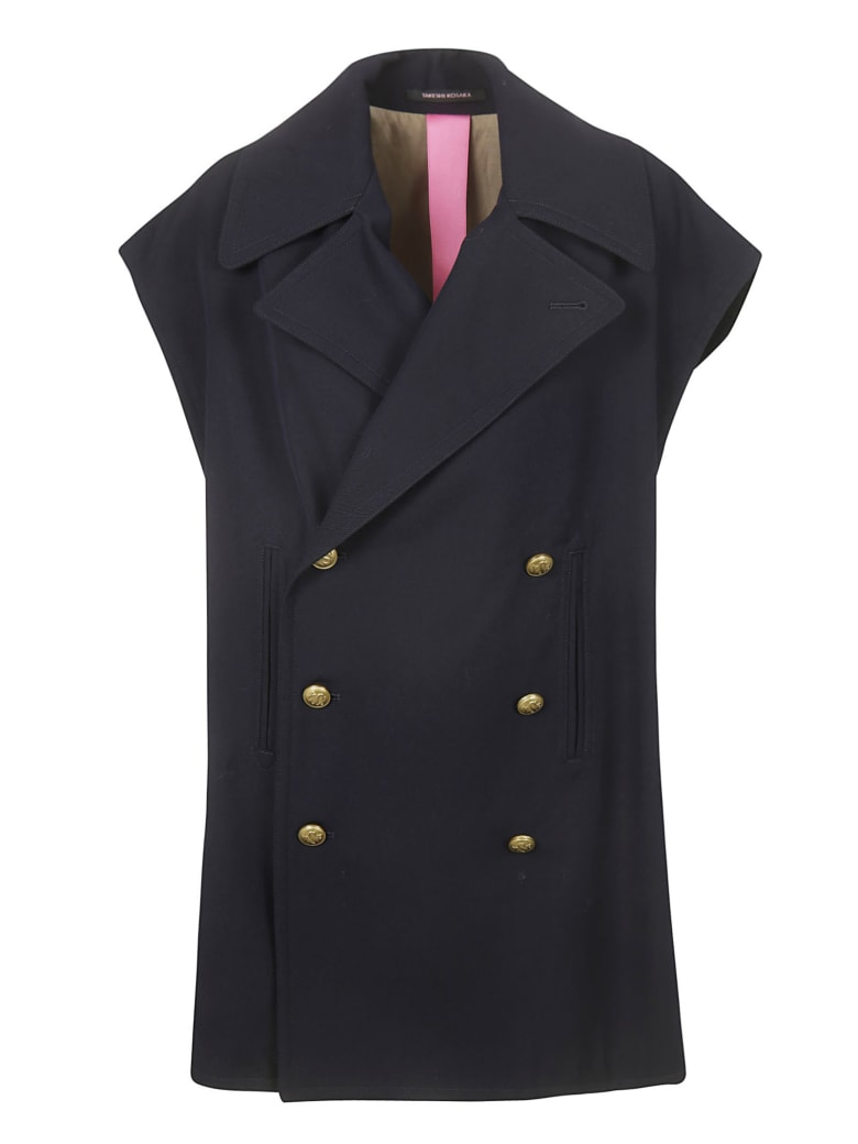 Y's Double-breasted Gilet - Navy