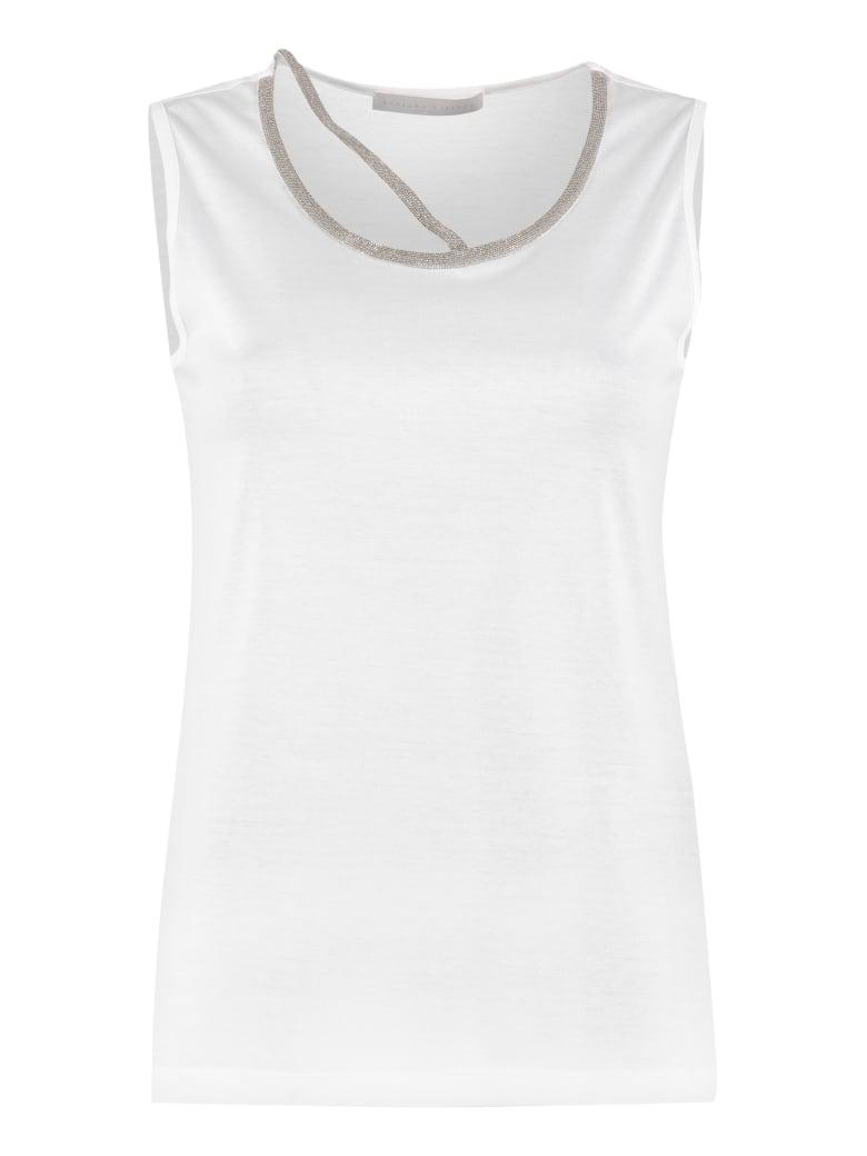 Fabiana Filippi Cotton Top - White