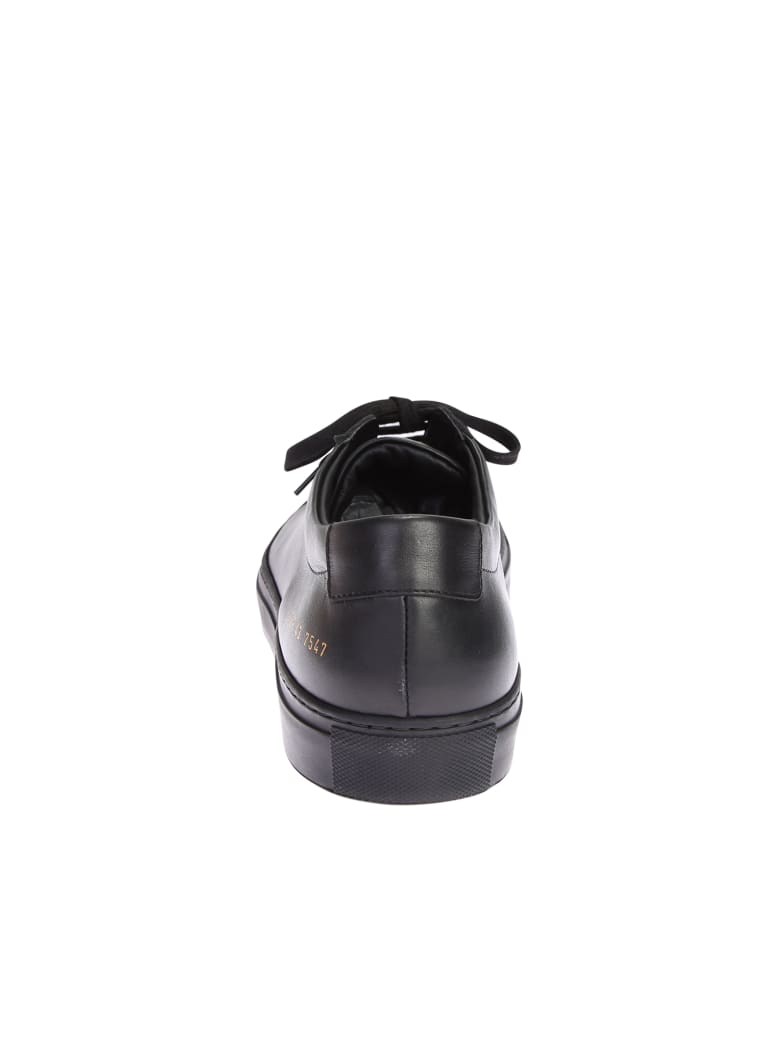 Common Projects Black Sneakers - Nero