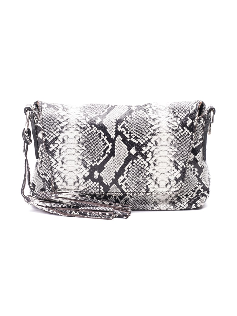 Gianni Chiarini Leather Top Handle Bag - STONE