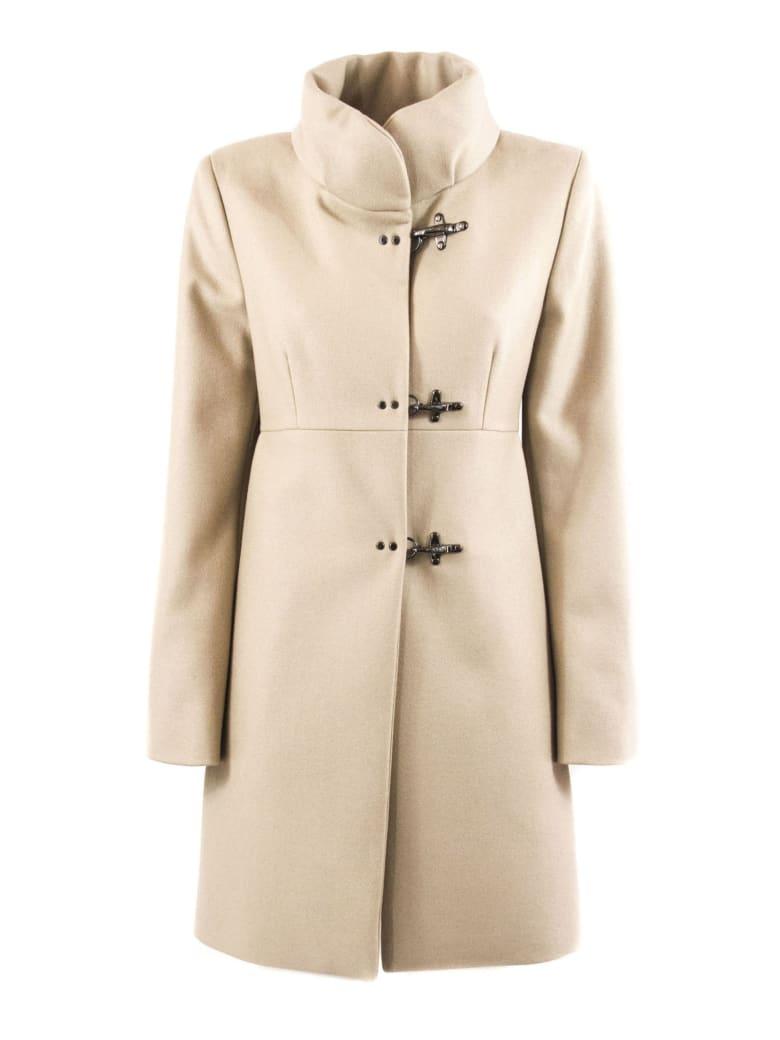 Fay Beige Virgin Wool-cashmere Jacket - Beige