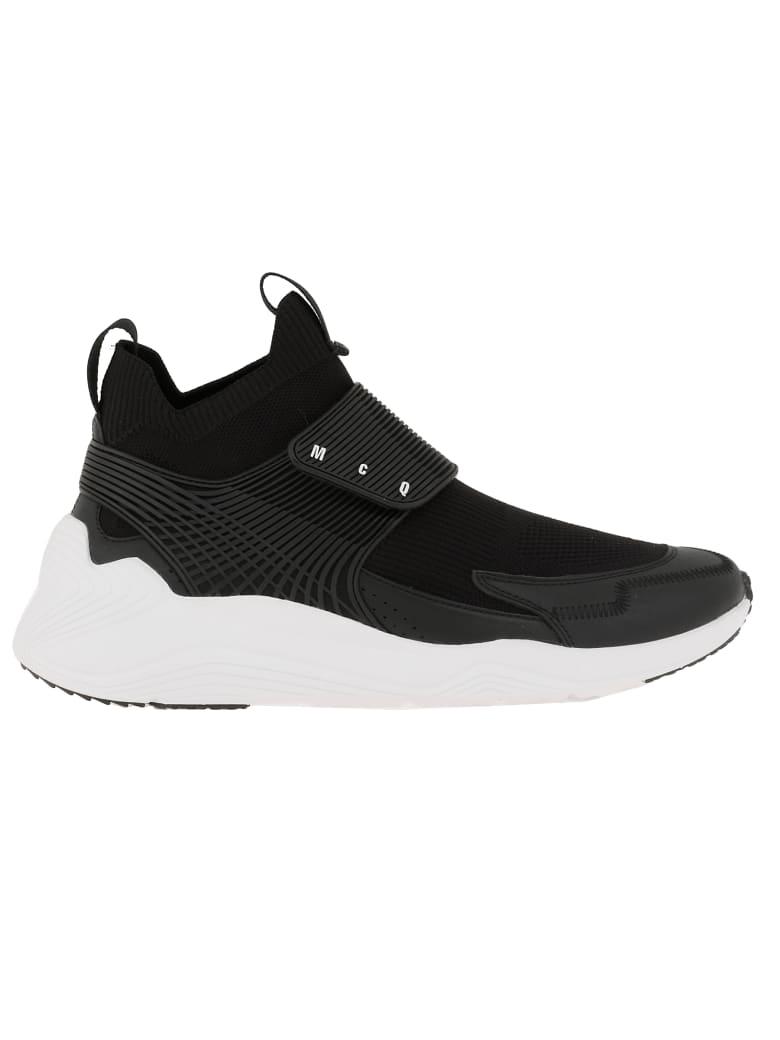 McQ Alexander McQueen Cotton Sneaker - BLACK