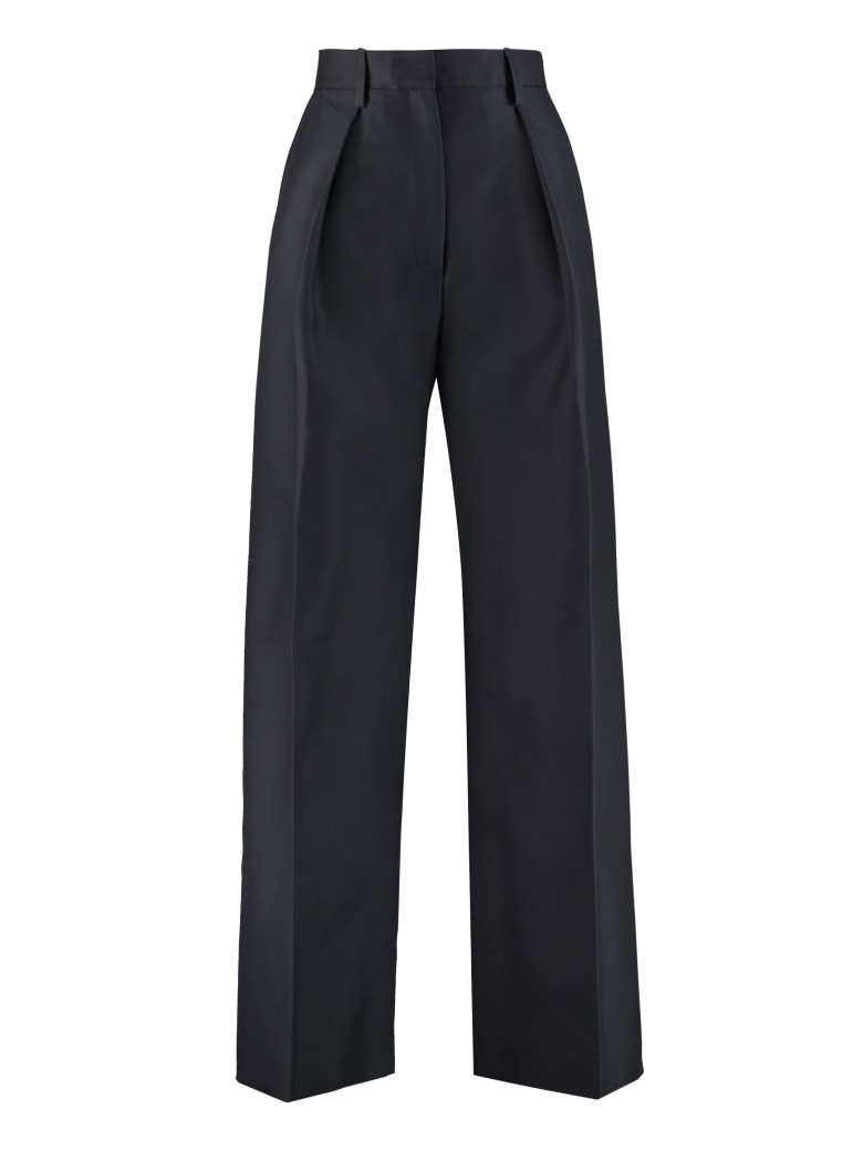 Jacquemus High-waist Wide-leg Trousers - blue