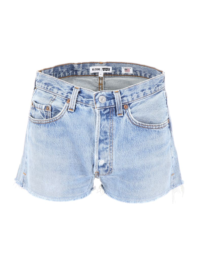 RE/DONE Denim Shorts - INDIGO (Blue)