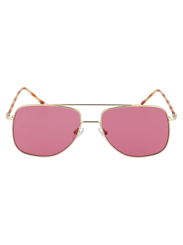 Spektre Sunglasses - Oro/bordeaux