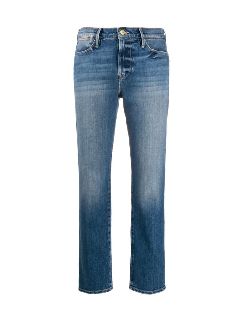 Frame High Straight Jeans - Hagen Hagen
