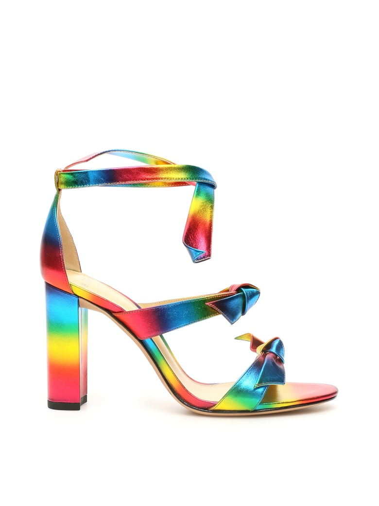 Alexandre Birman Lolita Block Sandals 90 - MULTI (Blue)