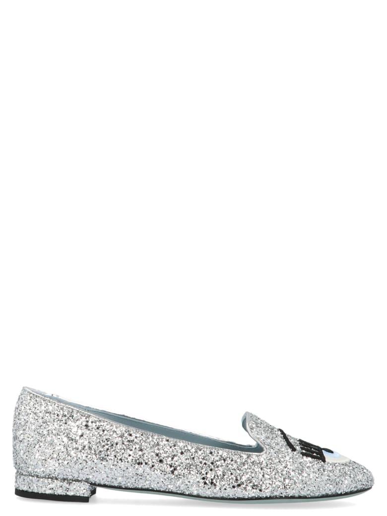 Chiara Ferragni 'eyes' Shoes - Silver