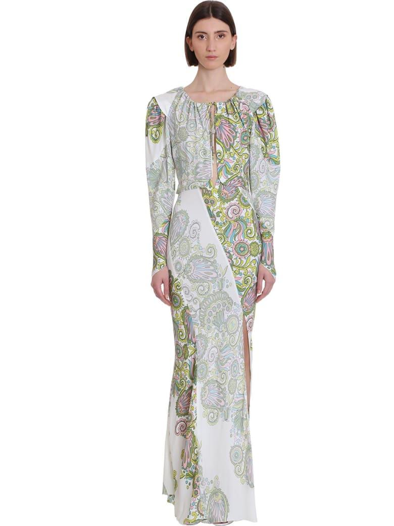 Lanvin Dress In White Silk - white