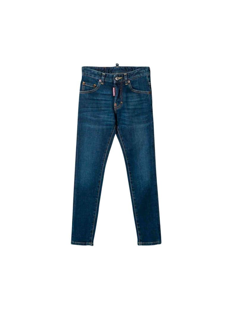 Dsquared2 Dark Denim Girl Jeans - Unica