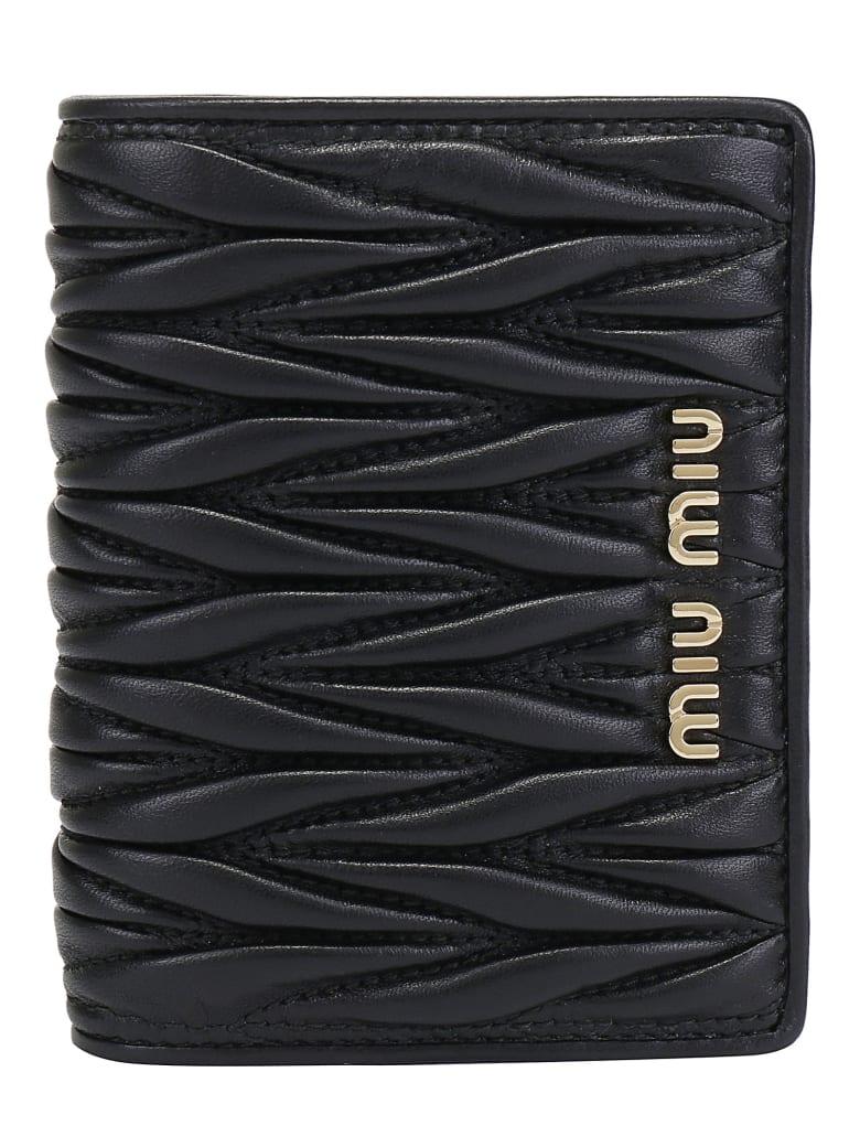 Miu Miu Vertical Wallet - Nero