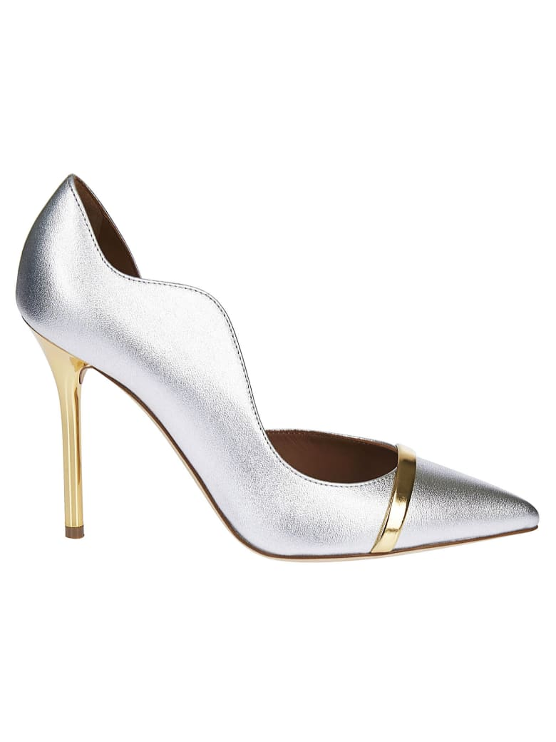 Malone Souliers Morrissey Pumps - Silver/Gold