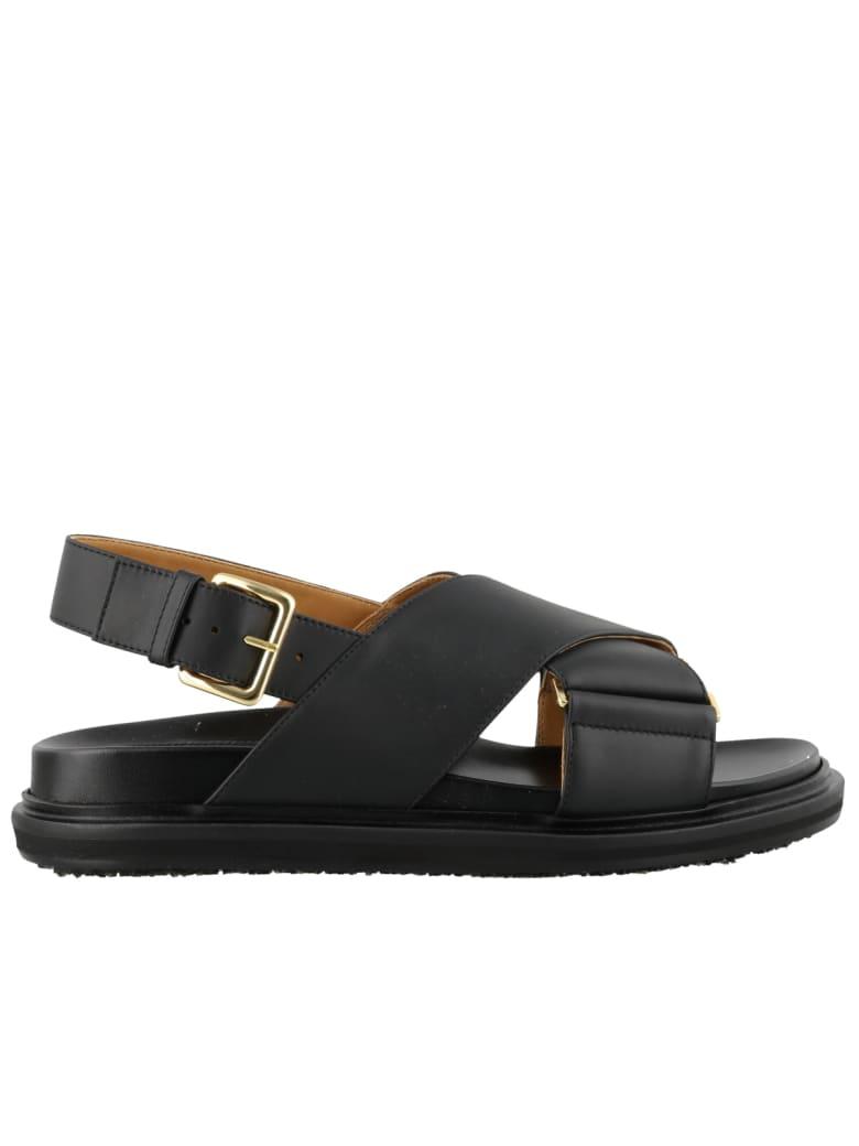 Marni Fussbett Sandals - Nero
