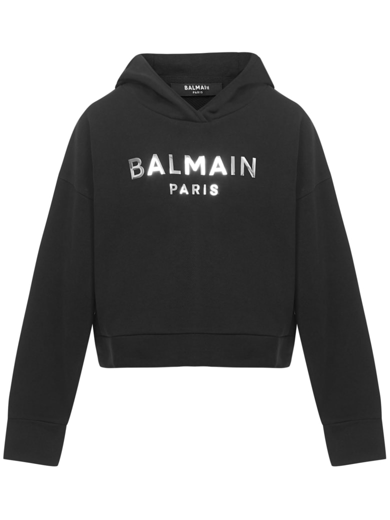Balmain Paris Kids Sweatshirt - Black