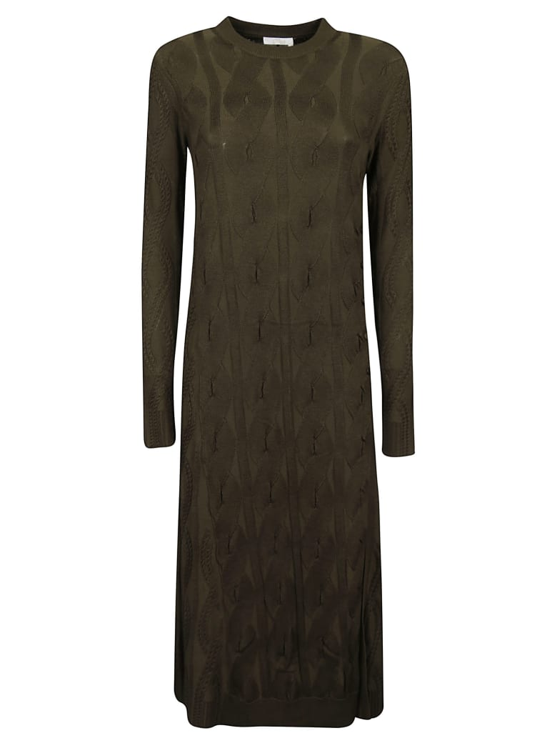 Chloé Forest Dress - Wide Forest