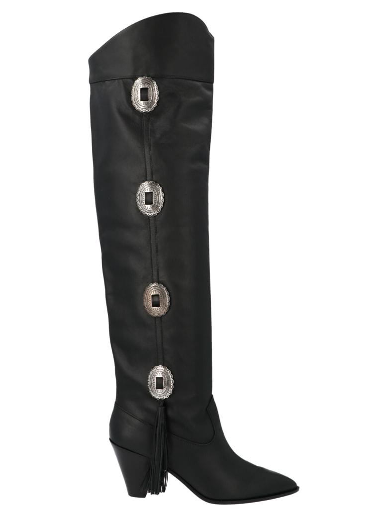 Aquazzura 'go West' Shoes - Black