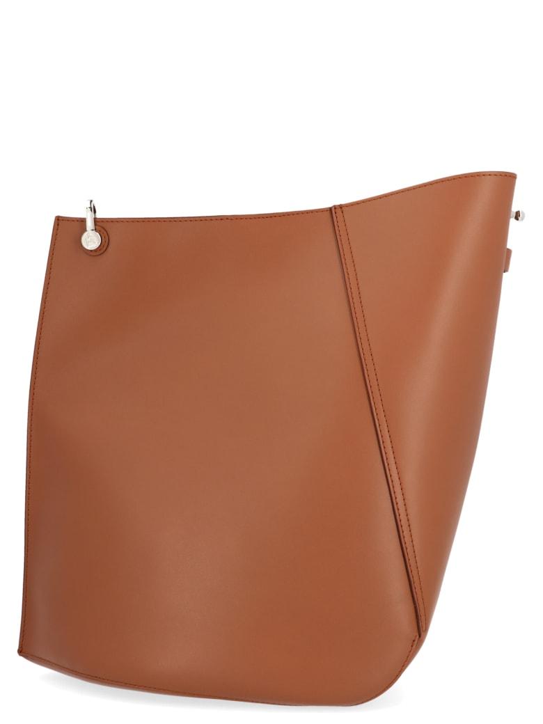 Lanvin 'hook' Bag - Brown