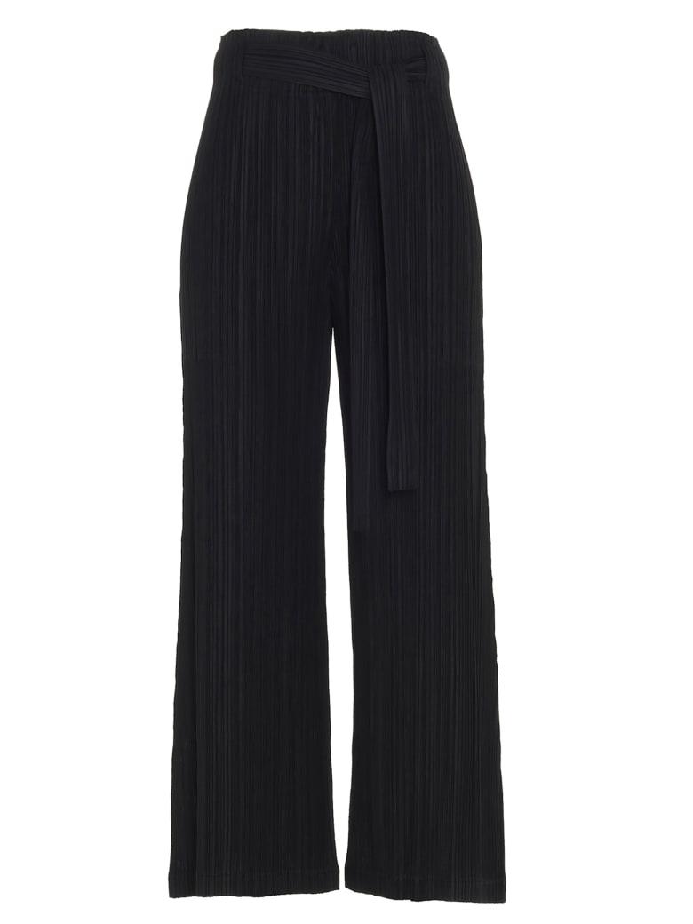 Pleats Please Issey Miyake Pants - Black